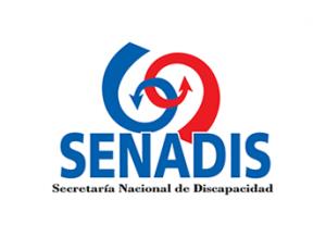 Logotipo con enlace a sitio web de Senadis