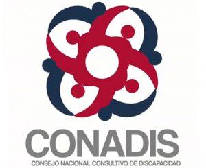 Logotipo con enlace a sitio web de CONADIS