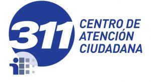 Logotipo con enlace a sitio web de Centro de Atención Ciudadana 311