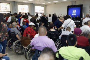 Foto de Personas con Discapacidad durante el evento