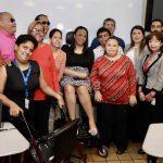 Foto grupal del equipo interinstitucional de personas con discapacidad