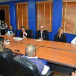 Director General reunido con Personas con Discapacidad Visual