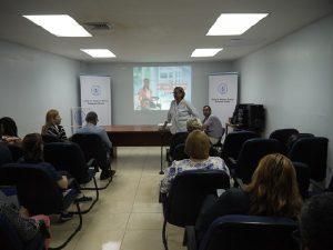 Licenciada Cielo sensibiliza a funcionarios en Panamá Oeste